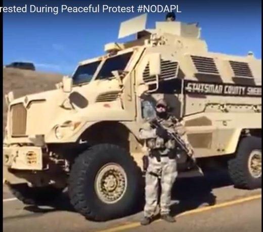 #NoDAPL, Standing Rock forces