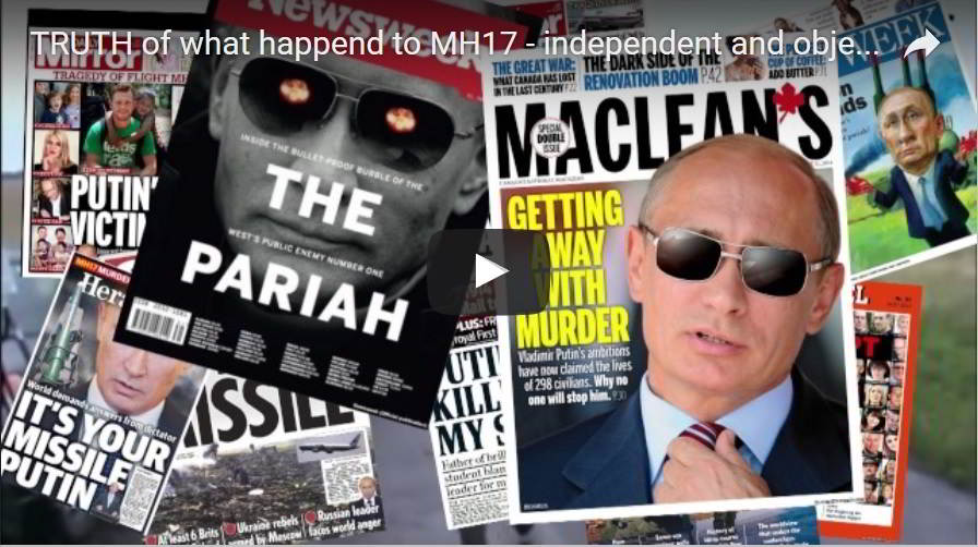 Truth of MH 17