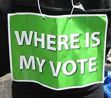 Green vote