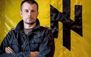 AZOV's de facto furrier, Andriy Biletsky.