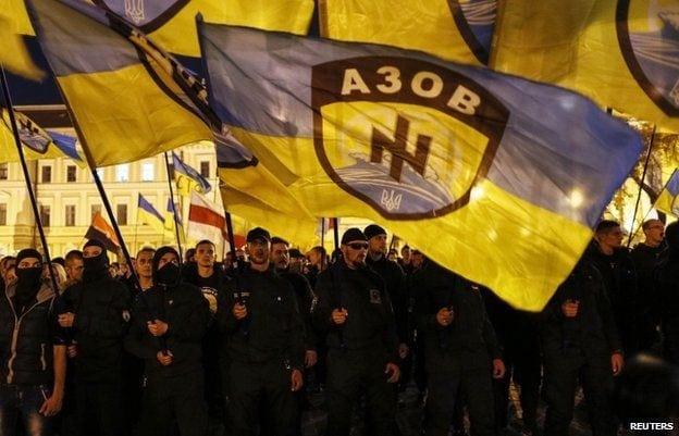 azov-battalion-parade