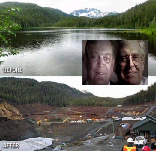 Koch coal mountain top removal
