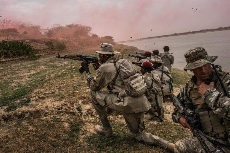 killings of four elite soldiers in niger highlight vast