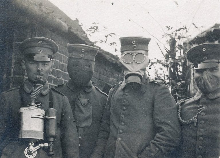Oil and the origins of the war to make the world safe for democracy german soldiers with gas masks in ww1 almost everyone who died in that war on either side never quite understood the real causes of the war fandeluxe Choice Image