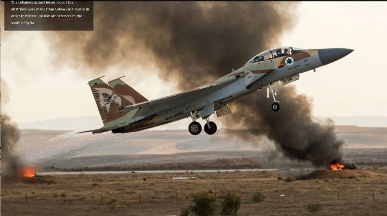 ISRAEL'S MURDEROUS STRIKES ON SYRIA (VIA 'PACIFIED ...