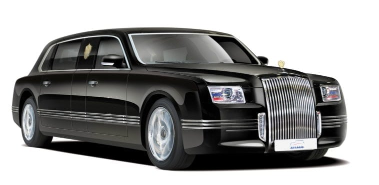 Image result for Russia Launches Super-Luxury Limo Brand