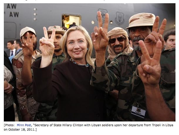 Clinton LibyanRebels