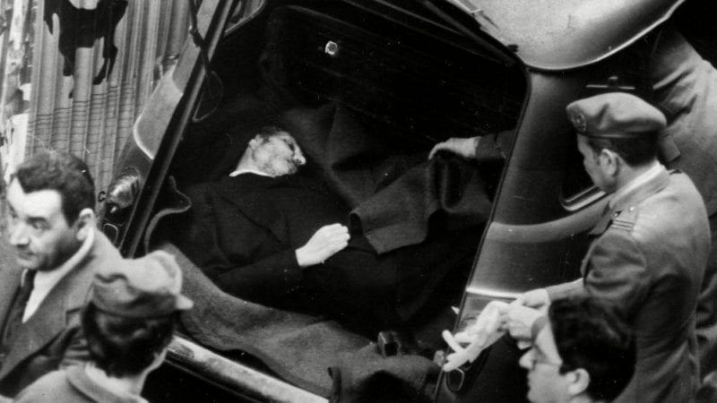 Aldo Moro dead