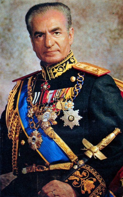 Mohammad Reza Pahlavi, aka The Shah of Iran,  photo Wikipedia