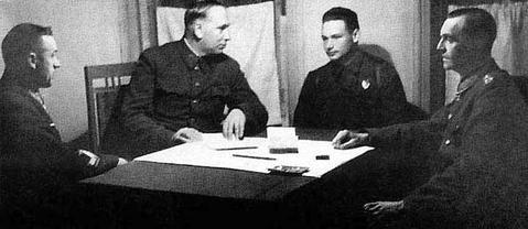 Paulus interrogated DonFrontDyatlenko