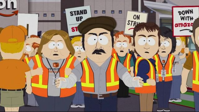 South Park episodes dramatize plight of Amazon workers, ridicule Jeff Bezos