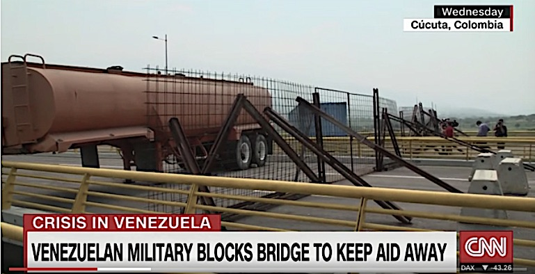 Western Media Fall in Lockstep for Cheap Trump/Rubio Venezuela Aid PR Stunt