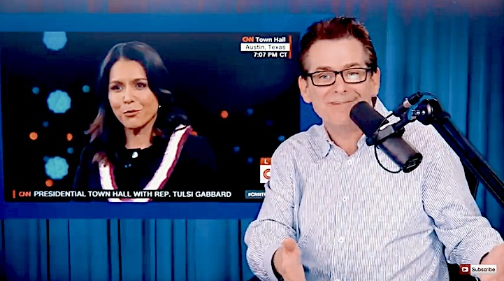 On Jimmy Dore Tulsi Smashes CNNs Pro War Horribleness