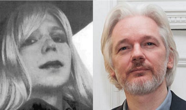 Resultado de imagen para chelsea manning julian assange