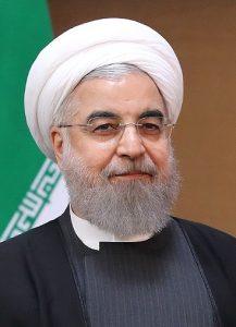 Iranian President Hassan Rouan
